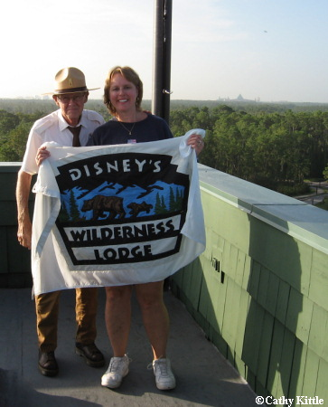 Kittle Flag Family at Wilderness Lodge