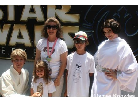 James Knowles Star Wars Weekend VIP