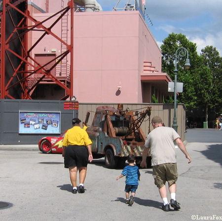 Running to Mater