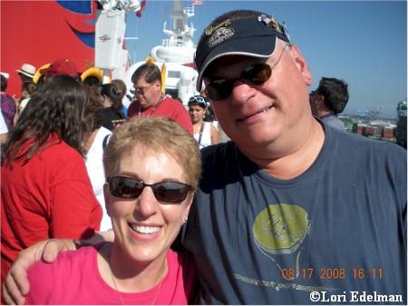 Lori and Michael at Sail Away