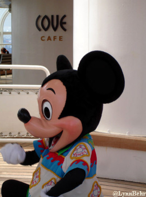 Mickey at Cove Cafe