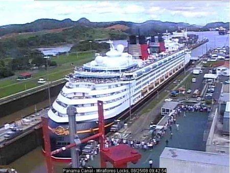 Miraflores Locks Disney Magic Panama Canal