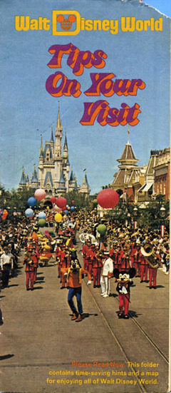 Guide maps a roadmap through disney parks history all ears the cover of a walt disney world guide map from 1974 chuck schmidt collection gumiabroncs Choice Image