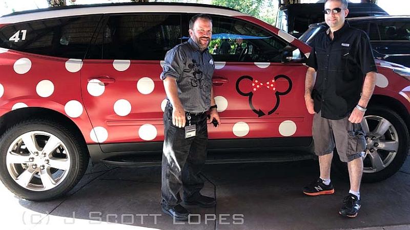 Follow the Dots: The New Minnie Van Service