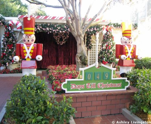 Magic Kingdom Holiday Decorations