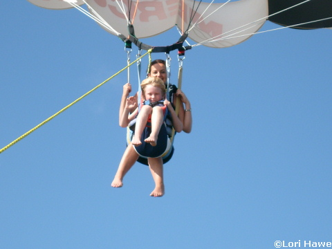 Sammy Duvall's Water Sports Center Parasailing