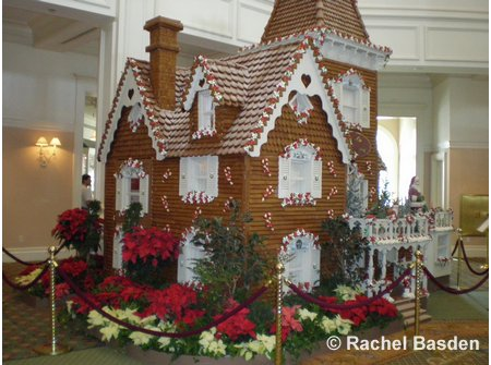 Grand Floridian Gingerbread