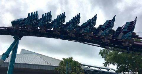 Behind the Wall: MAKO SeaWorld's Newest Coaster