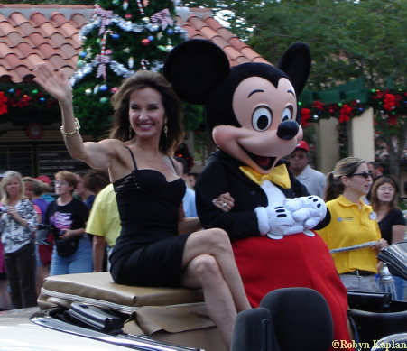 Susan Lucci and Mickey Mouse