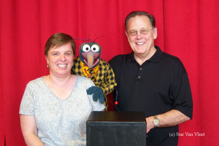 Sue and Gonzo