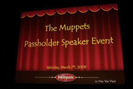 The Muppets Passholder Speaker Event