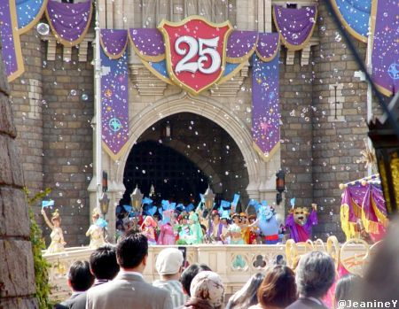 Tokyo Disneyland for Re-Dedication Ceremony