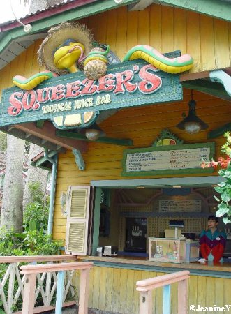 Tropical Juice Bar Squeezer's