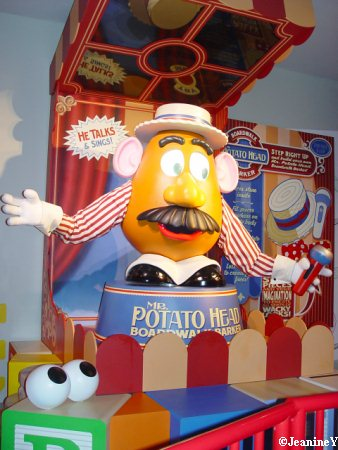 Mr. Potato Head Toy Story Mania Disney's Hollywood Studios Walt Disney World