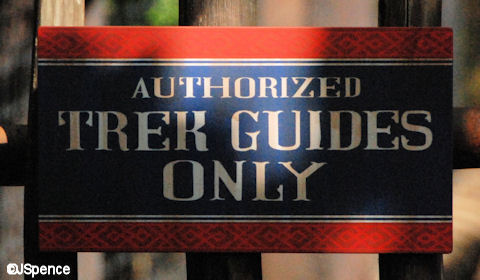 Authorized Trek Guides Only
