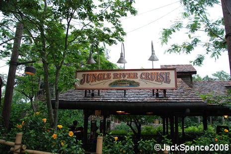 Jungle River Cruise Hong Kong Disneyland