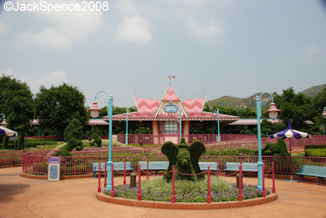 Fantasyland Train Station Hong Kong Disneyland