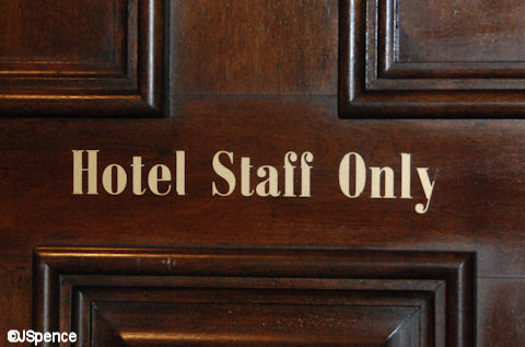 Hotel Staff Only