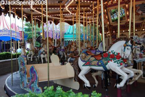 Cinderealla Carousel Hong Kong Disneyland