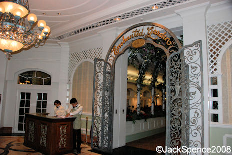 Enchanted Garden Restaurant  at Disneyland Hotel Hong Kong Disney Resort