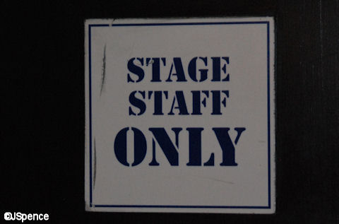 Stage Staff Only