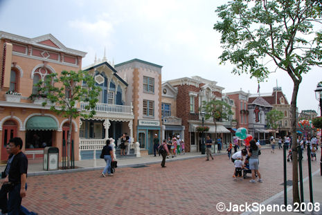 Main Street Hong Kong Disneyland