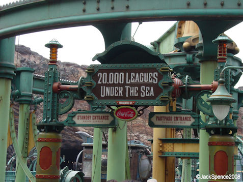 20,000 Leagues Under the Sea at Mysterious Island at Tokyo DisneySea