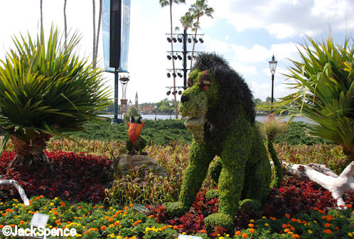 2009 Flower and Garden Festival Lion