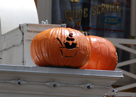 Ice Cream Parlor Pumpkin