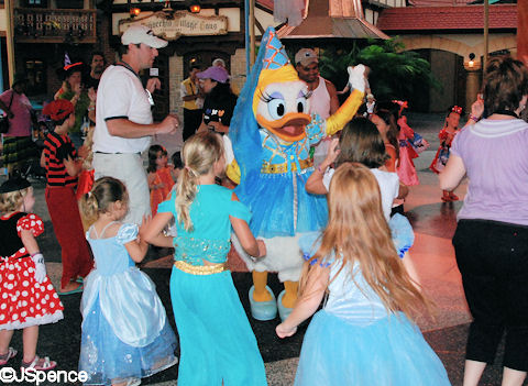 Fantasyland Dance Party