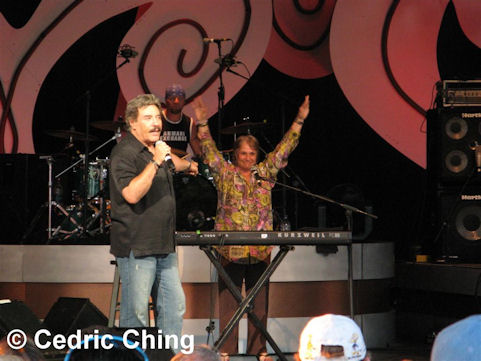 Tony Orlando and Keyboardist