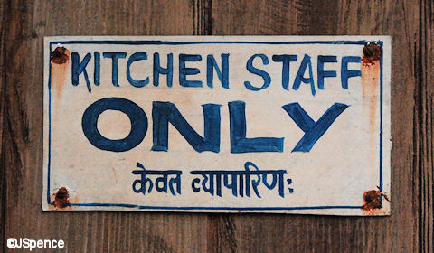 Kitchen Staff Only