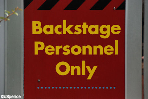 Backstage Personnel Only