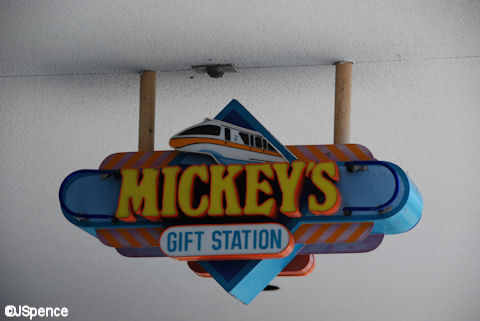 Mickey's Gift Station