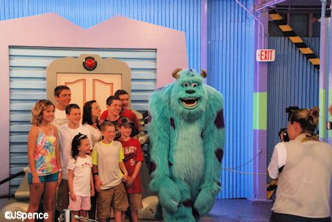 Monsters Inc. Photo Op