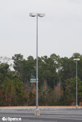 Parking Log Lamppost