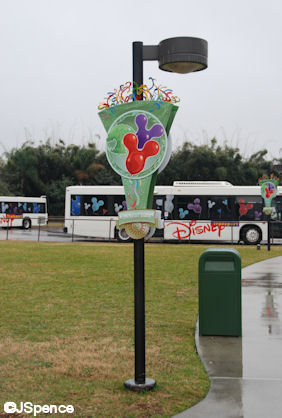 Bus Station Lampposts
