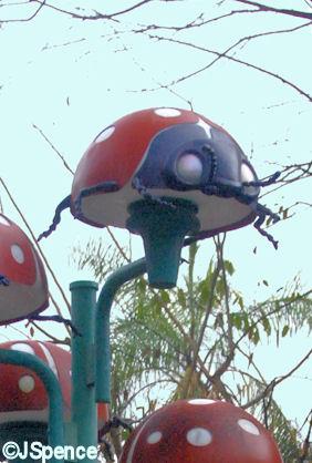 Ladybug Lamppost