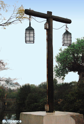 Africal Bridge Lamppost