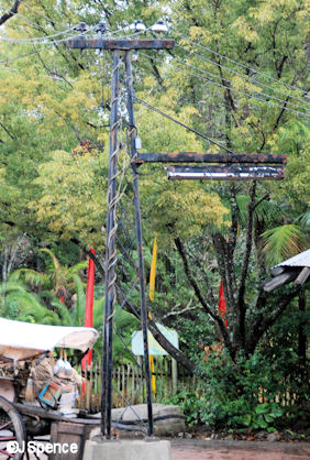 Anandapur Metal Tower Lamppost