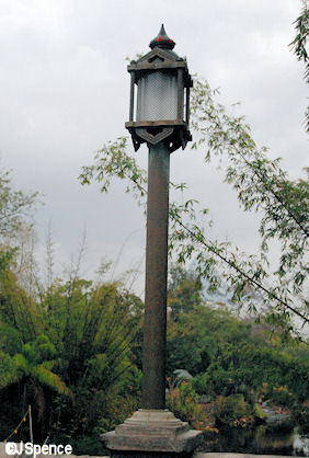 Asian Bridge Lamppost