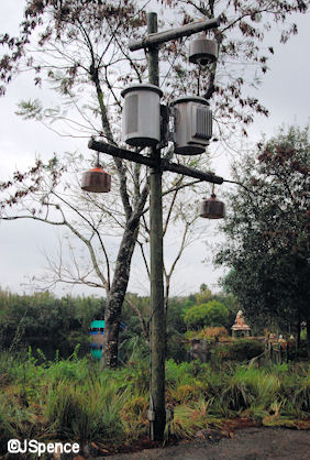 Electrical Tower Lamppost