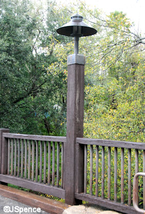 Hunting Lodge Lampposts