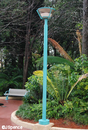 Dino Institute Lamppost