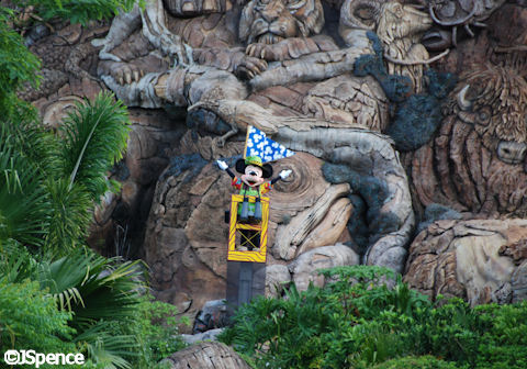 Mickey at the Tree of Life