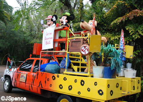 Minnie, Mickey, and Pluto