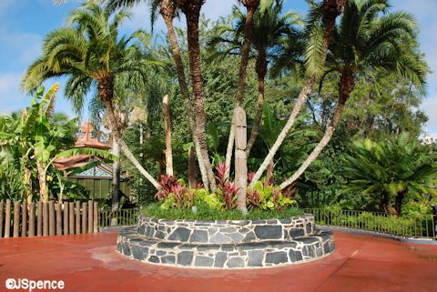 Adventureland Entrance Planter
