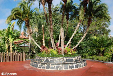 Adventureland Entrance Planter