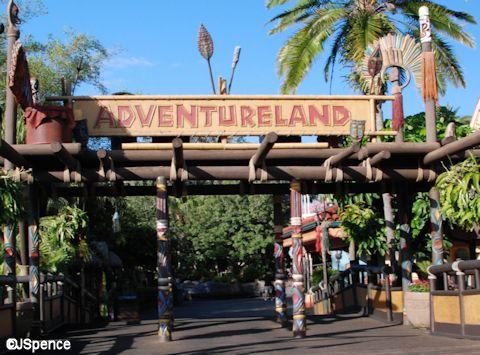 Adventureland Entrance Arch