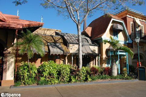 Adventureland Architecture